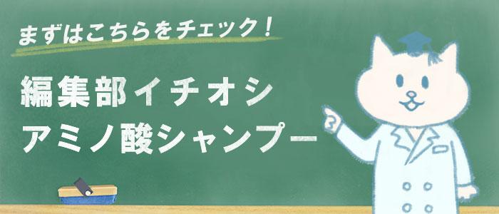 アミノ酸シャンプーのおすすめ商品10選