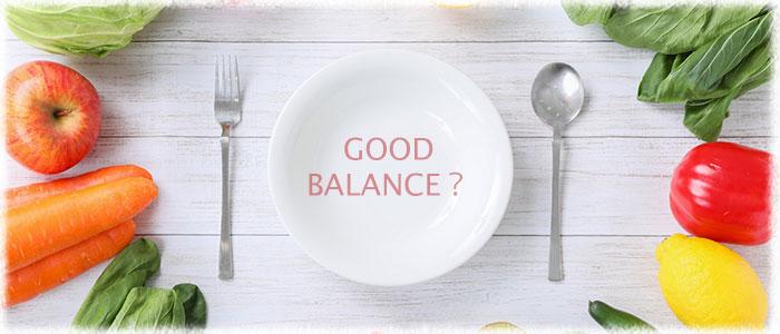 食生活の偏りはお肌の潤いを守る機能を低下させます