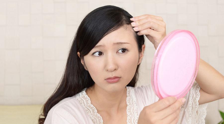 50代女性の髪のお悩み