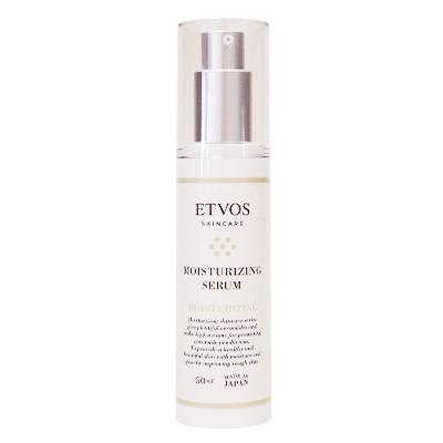 【乾燥からくる敏感肌に高保湿美容液】 ETVOS(エトヴォス)セラミドスキンケア モイスチャライジングセラム